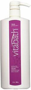 Vitabath Plus for Dry Skin Moisturizing Bath & Shower Gelee 900g / 32 oz.