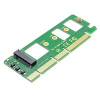 NGFF M-key NVME AHCI SSD to PCI-E 3.0 16x x4 Adapter for XP941 m6e 960 EVO GL