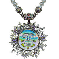 Kirks Folly Seaview Ice Moon Snowflake Magnetic Interchangeable Necklace (HEMTE)