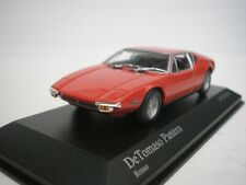 Detomaso de Tomaso Pantera 1972 Red 1/43 minichamps 400127500 New