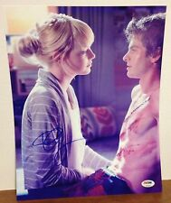 EMMA STONE GWEN STACY AUTOGRAPHED SIGNED 11X14 PHOTO PSA DNA AMAZING SPIDER-MAN