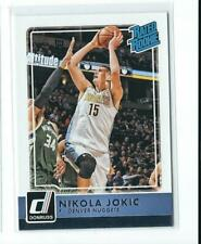 2015-16 Donruss #215 Nikola Jokic RC Rookie Nuggets