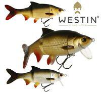 Westin Lure Fishing RICKY THE ROACH HYBRID 15cm 36g Swimbait Bait Predator Pike