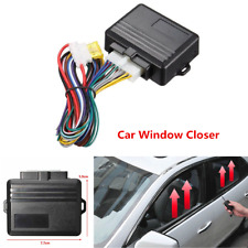 Universal 12V Car Safety Power Window Roll Up Closer Alarm Module For 4 Doors