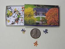 "Mini Jigsaw Puzzle 100 piece 1:12 ""Mansion"""