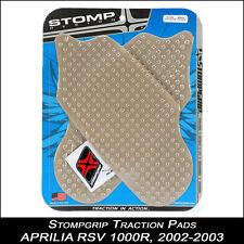 Stompgrip TRACTION pads APRILIA RSV 1000R 02-03 transparent tampon de réservoir