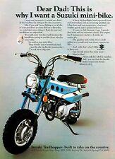 1972 SUZUKI MT-50J TRAILHOPPER SALES AD/ BROCHURE