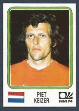 PANINI WORLD CUP STORY #091-MUNICH 74-NEDERLAND-HOLLAND-PIET KEIZER