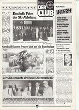 BL 87/88 1. FC Nürnberg - CLUB INTERN - Juni 1988