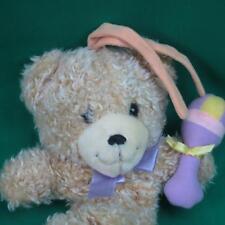TA RA BOOM DE YA A SHAGGY BROWN BABY MUSICAL CRIPPLE TOY PLUSH TEDDY BEAR