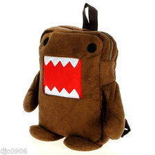 "Domo Kun 13"" Plush Backpack-Domo Kun Mascot of Japanese NHK Radio-New with Tags!"