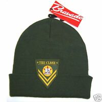 Clash Patch Army Logo Green Ski Hat Beanie New Official NWT Punk Rock Merch