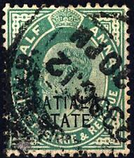 Patiala-1911-Timbres de l'Inde anglaise de 1906 (POSTAGE & REVENUE)