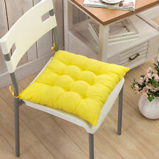 Removable Chair Foam Cushion Seat Pads Tie On Room Garden Kitchen Dining Table