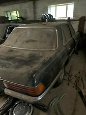 Mercedes 280 SE W116 Oldtimer Scheunenfund