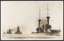 More details for postcard. royal navy. the home fleet at sea headed by flagship hms neptune.