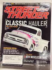 Street Thunder Magazine 1955 Ford Pickup May/June 2006 050317nonr