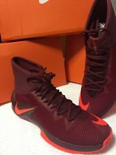 Nike Air Zoom Clear Out Men's 13 Red Total Crimson Basketball Last One !New