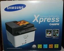 NEW Samsung Xpress SL-C460FW Color Laser All-in-One Printer Sealed