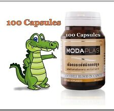 Crocodile Blood MODAPLAS (100 capsules), For use as an Iron Supplement, Thailand