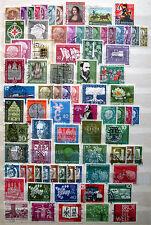 Lot federal, 84 marcas, con sello a partir de cuerno postal