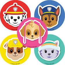 15 Paw Patrol Emoji Stickers Party Favors Teacher Supply Jake Chase Skye Rubble