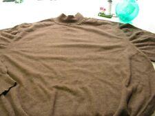 Sweater Crew Neck John W Nordstrom  Designer  XXL Tan Merino Wool Italy