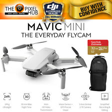 DJI Mavic Mini with 12MP/2.7K Gimbal Camera + Sandisk 32GB and Backpack Bundle