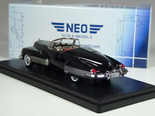 (KI-09-23) Neo Scale Models Buick y-Job Concept 1938 Negro En 1:43 IN Emb.orig