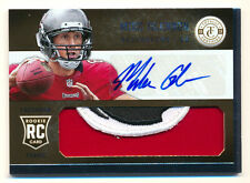 2013 TOTALLY CERTIFIED MIKE GLENNON RC GOLD BUCS LOGO PATCH AUTO BEARS 8/25 1/1!