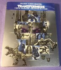 Transformers 5-Movie Collection [ Limited STEELBOOK Edition ] (Blu-ray DVD) NEW