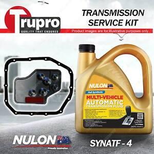 SYNATF Transmission Oil + Filter Kit for Mitsubishi Magna TR TS Verada KR KS