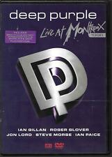 DVD ALL ZONES--DEEP PURPLE--LIVE AT MONTREUX 1996