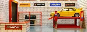 1/18 garage diorama items