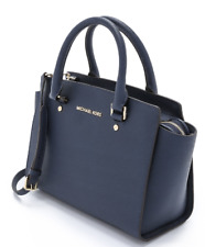 BNWT Michael Kors Navy Selma Medium Satchel Handbag Satchel in Full Packaging