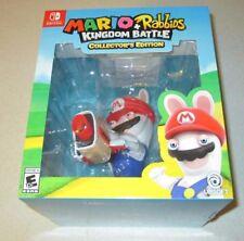 Mario + Rabbids Kingdom Battle Collector's Edition Nintendo Switch Sealed