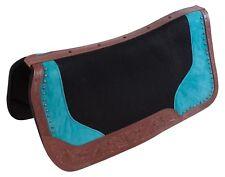 Blue Non Slip Orthopedic Western Horse Saddle Pad Shock Absorbing Blanket Pro