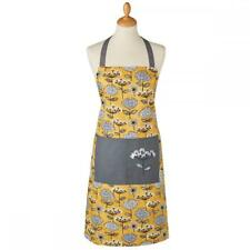 Retro Meadow Design Cotton Adult Full Cooking Apron