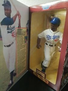 "1997 Starting Lineup Jackie Robinson 12"" Brooklyn Los Angeles Dodgers baseball"