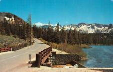 MAMMOTH LAKES HIGHWAY Hot Creek Twin Lake, California 1975 Vintage Postcard