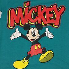 Vintage Mickey Mouse Walt Disney Soft T Shirt  Cartoon World Land Amusement Park