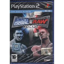 WWE Smackdown Vs Raw 2006 Playstation 2 PS2 Sigillato 4005209068352