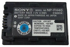 Genuine Sony NP-FH40 Original Battery FH60 FH50 FH30 A230 HC16 XR200 SR30 SX50