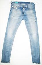 *HOT Men's DIESEL @ TEPPHAR 813W Slim CARROT SKINNY STRETCH Denim Jeans 30 x 34