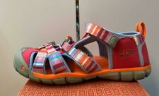 KEEN YOUTH SEACAMP SANDAL - SIZE 6 - BRIGHT ROSE - NEW WITH TAGS AND BOX!!!