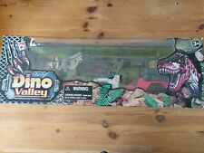 Chap Mei Dino Valley Longrope Jeep And Dino Set New Sealed