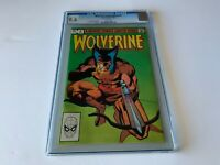 WOLVERINE LIMITED SERIES 4 CGC 9.6 WHITE PAGES FRANK MILLER MARVEL COMICS 1982 A