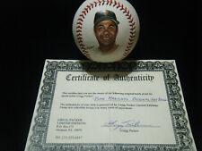 Juan Marichal HOF San Francisco Giants Packer COA Portrait MLB baseball