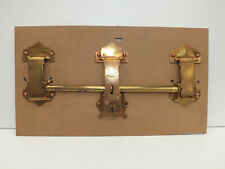 More details for reclaimed antique brass lock fittings from a cabin trunk