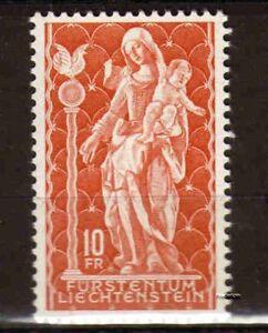 1965 Liechtenstein N°397. 10f orange. N** A31